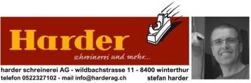Firmenlogo Harder Schreinerei Winterthur