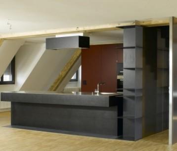 Küche aus Kunstschiefer